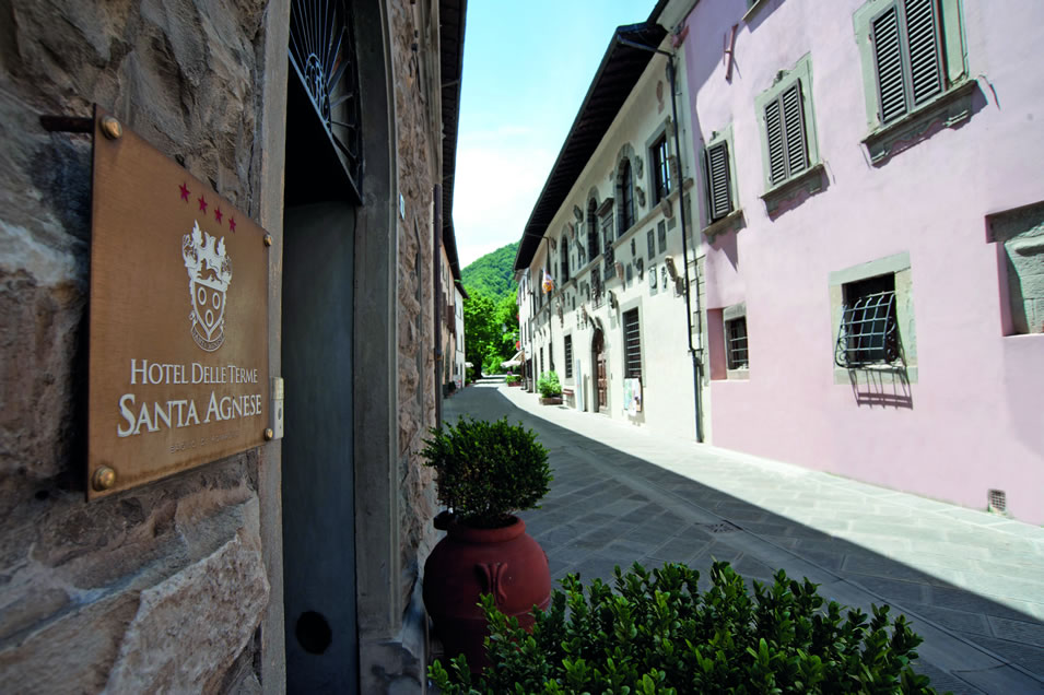 Hotel delle terme santa agnese bagno di romagna: 4 sterne hotel 4